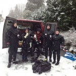 Drysuits and Snow
